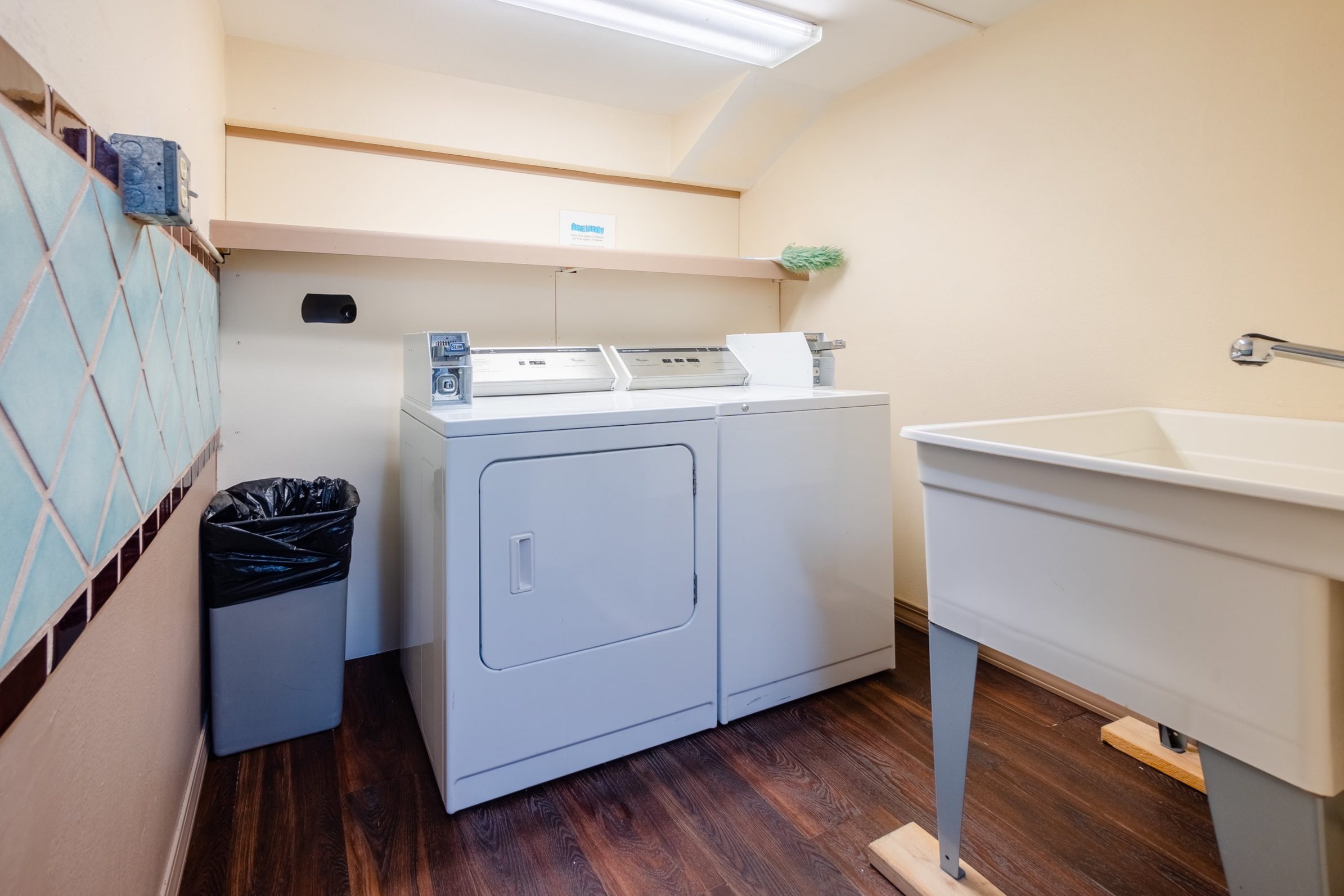 Laundry - Coin operated laundry available on 1st floor