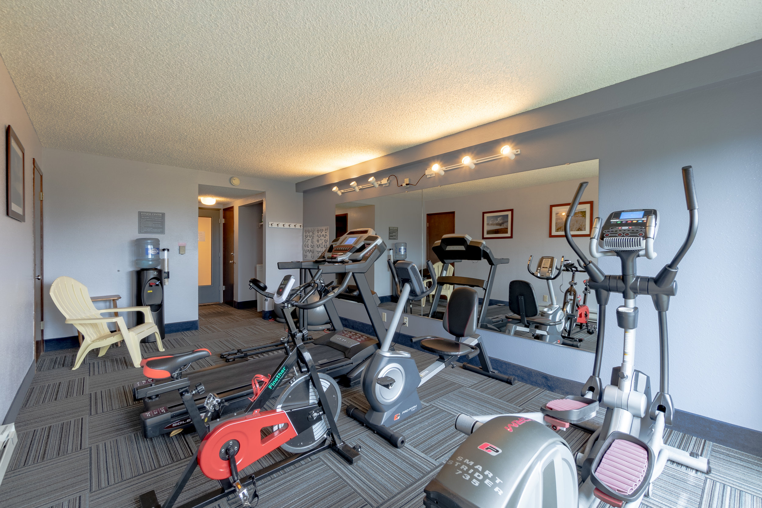 Fitness Center - Open 24 hours/day!