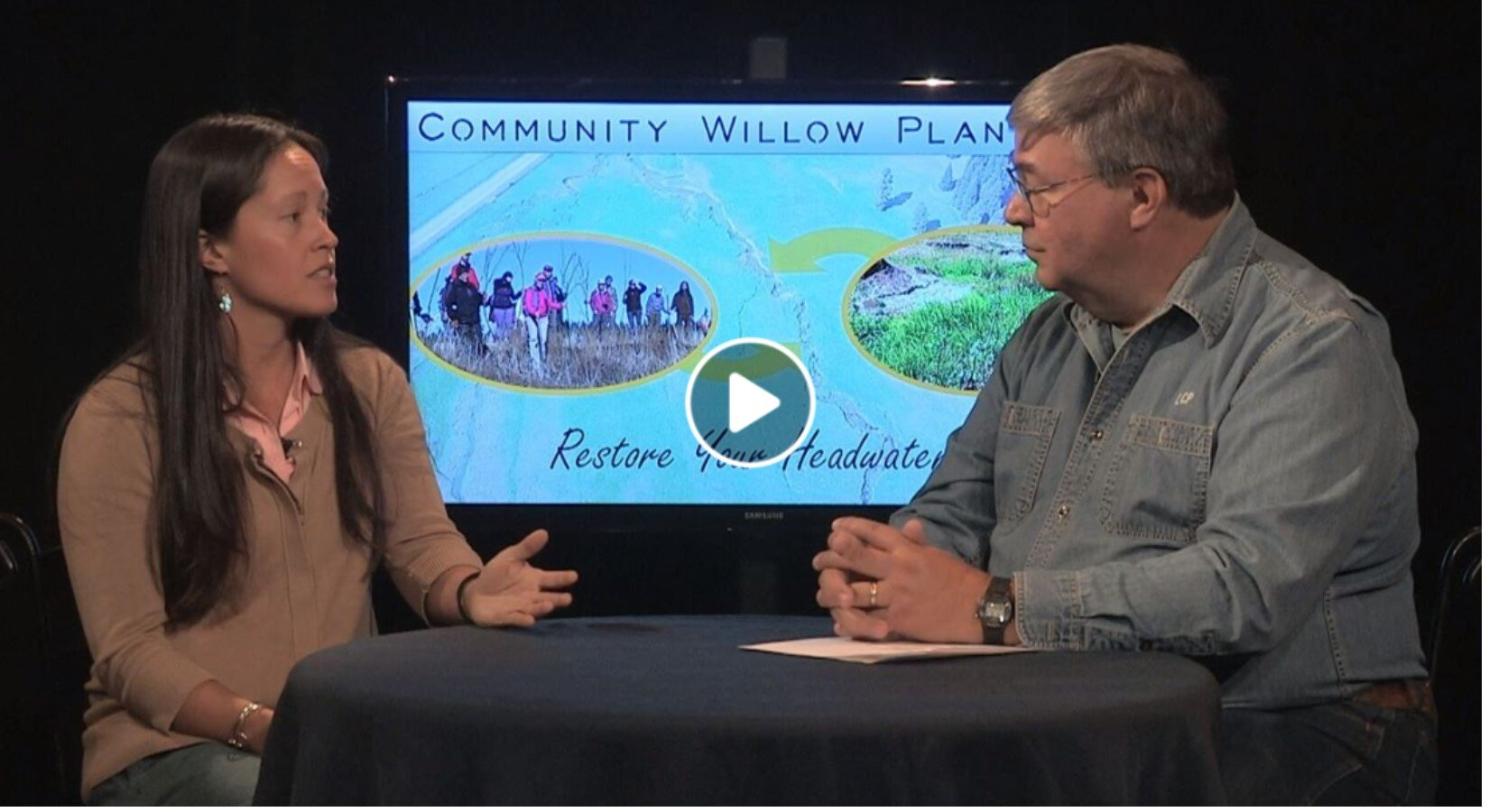 """Thanks to John Letz for inviting Vesper Meadow to interview on the """"Adventures in Education"""" TV show. Shout outs to Vesper Meadow partners including the Klamath Bird Observatory, the Rogue Native Plant Partnership, Siletz Tribe's Healthy Traditions Program, partnering biologists, artists, and our many dedicated volunteers!"""