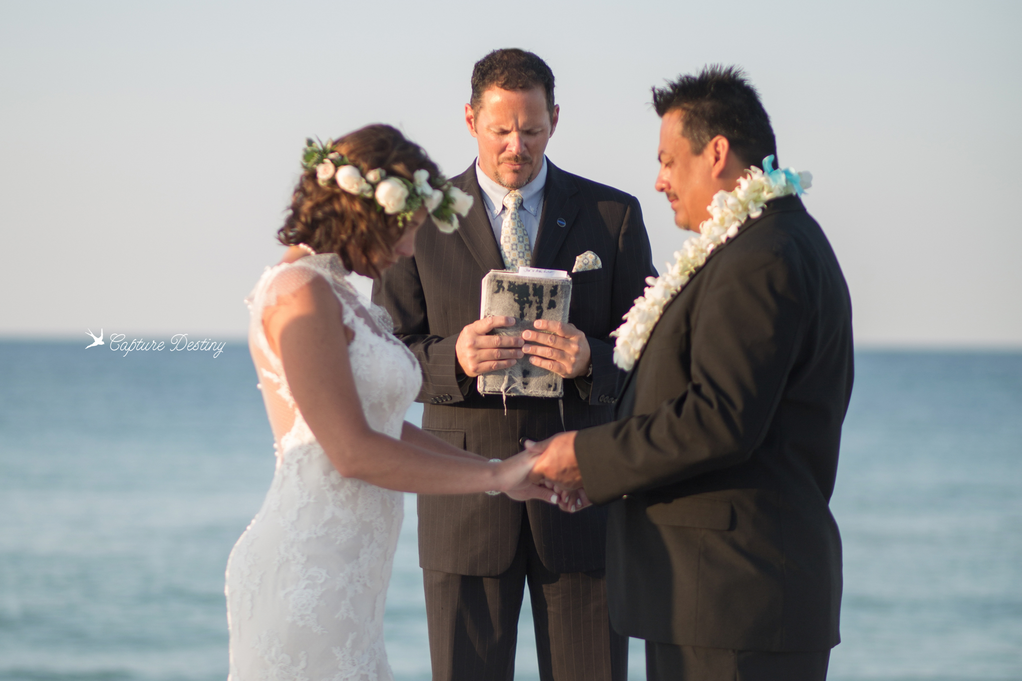 Short & Sweet - Needing just a short, simple, intimate wedding?Rev. Adams is a 4 time winner of the Best of Coast, ordained wedding officiant and has been recently Featured on the WEDDING CHICKS website & blog.Big or small, the BEACHPREACHER would LOVE to meet you anywhere in the area for a simple beach wedding. Check out his 200+ five-star reviews on Facebook, Google, or WeddingWire.You can visit Reverend Bryan Adams at BeachPreacher.com for more information about his Pensacola Beach Wedding Services.Click here for pricing info.