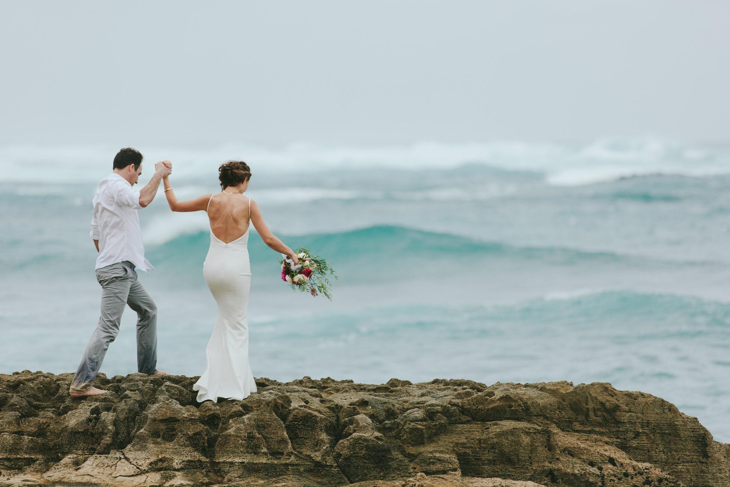 kate & will :: oahu, Hawaii    destination wedding