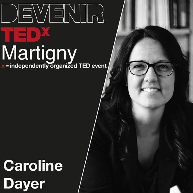 Chercheuse, formatrice, autrice et consultante, Caroline Dayer 🙋🏻♀️ est actuellement experte en prévention des violences et des discriminations. Lauréate du forum des 100 personnes qui font la Suisse Romande en 2017, ses activités se déploient sur le plan local comme international. 🌍  Plus d'infos sur TEDxMartigny.ch Vendredi 6 septembre 2019 . .  #tedxmartigny #tedx #tedxspeakers  #mymartigny #valaiswallis #unigeneve