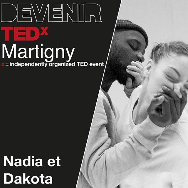 """Depuis leur plus tendre enfance, Dakota & Nadia ont utilisé la danse comme moyen d'expression. 💃🏻🕺🏾 La chorégraphie """"Ne me quitte pas !"""" leur a permis de remporter les championnats du monde de danse au World of Dance en Juillet 2018 et de participer à l'émission La France à un Incroyable talent.  #tedx #tedxmartigny #mymartigny"""