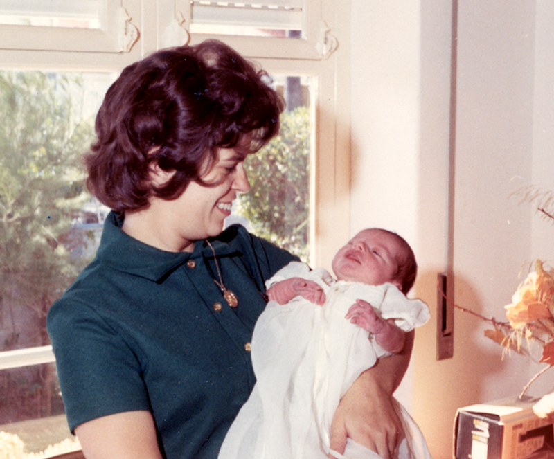 Gwen Coniker & Baby