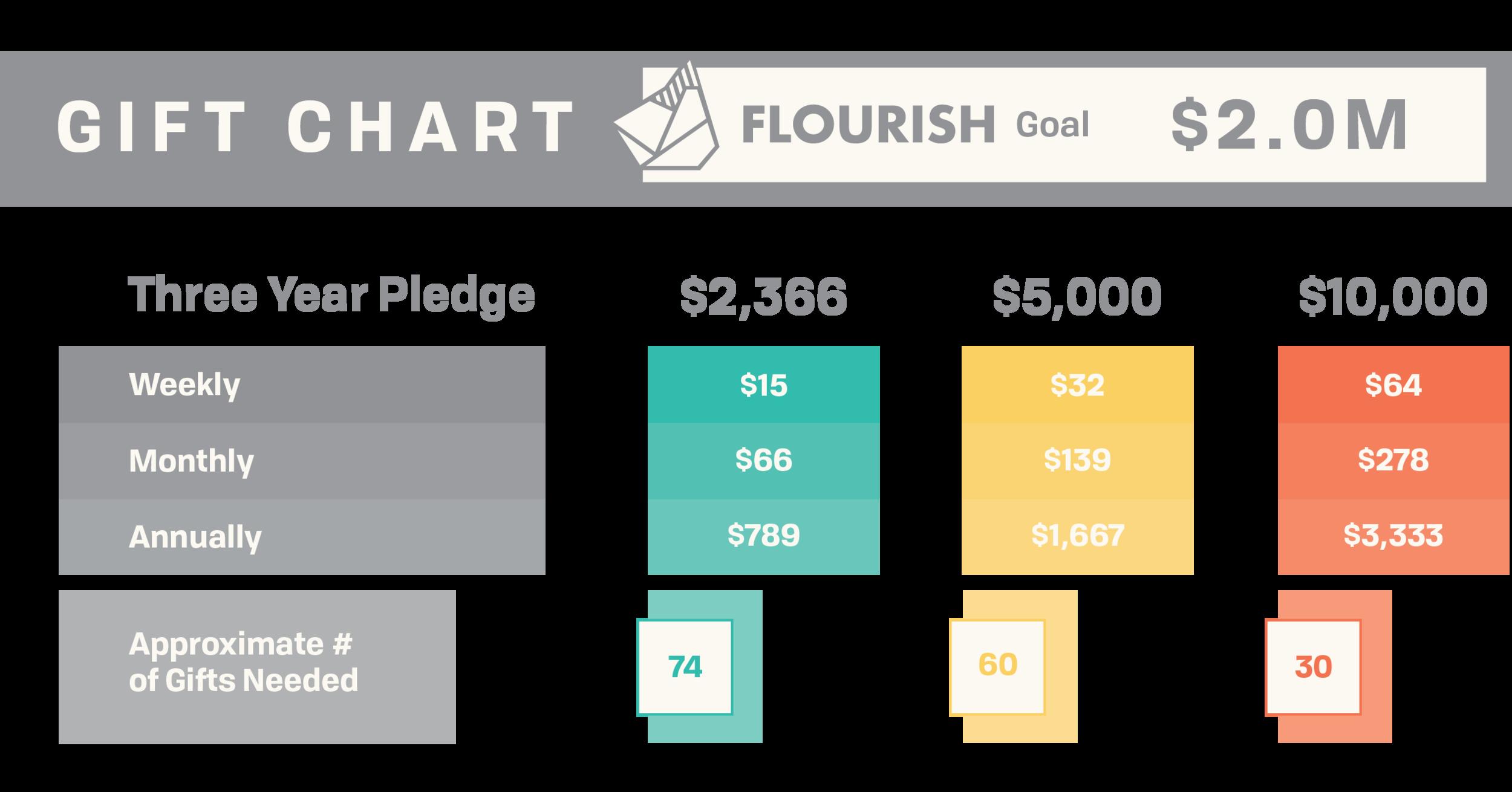 Flourish Giving Chart
