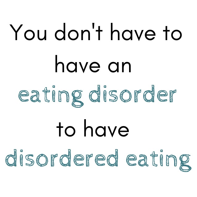 disordered eating, eating disorder
