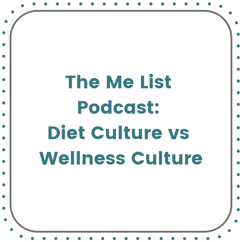 diet culture vs wellness culture