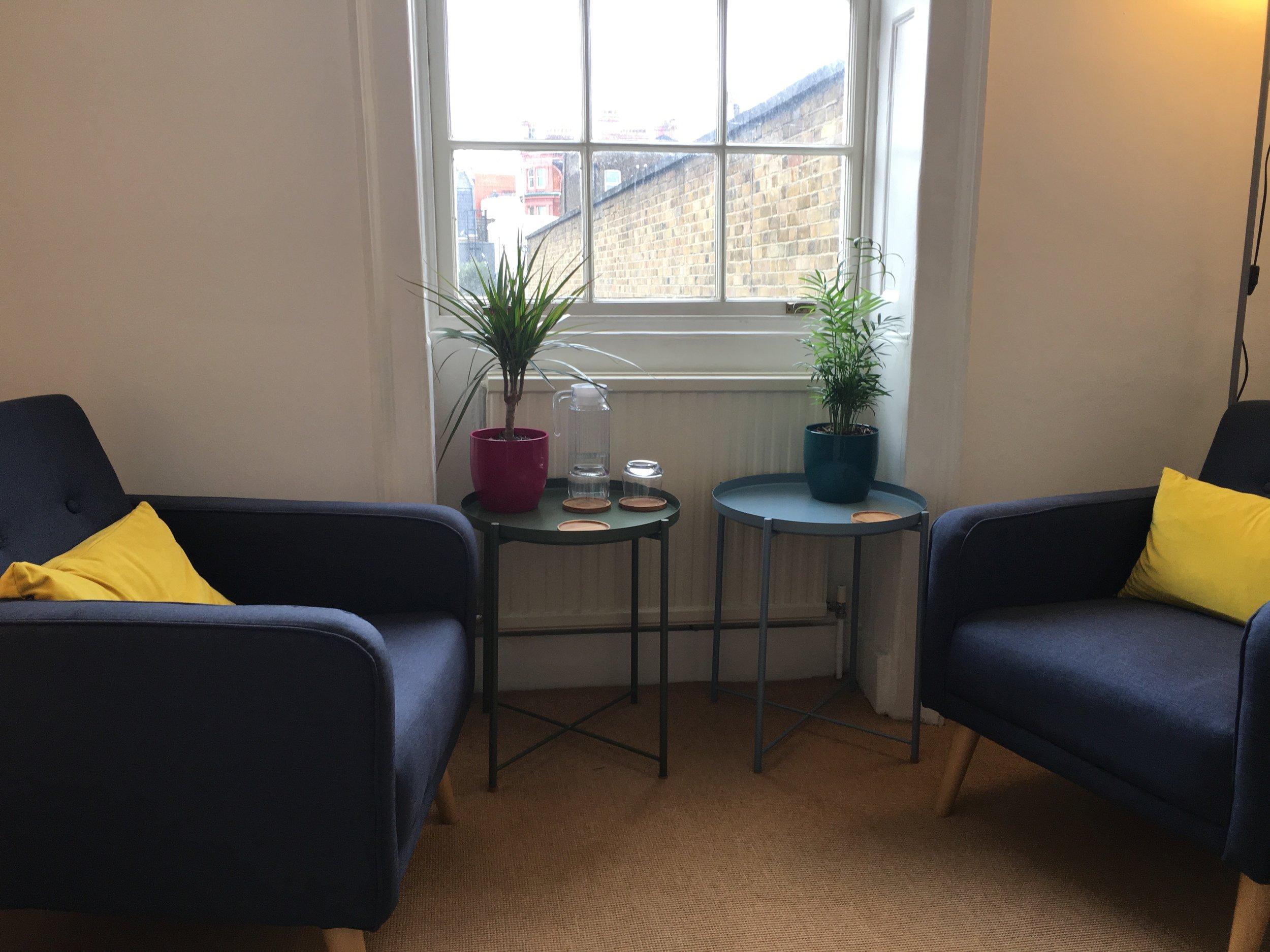 Counselling Room, John Street, London, WC1N 2ES