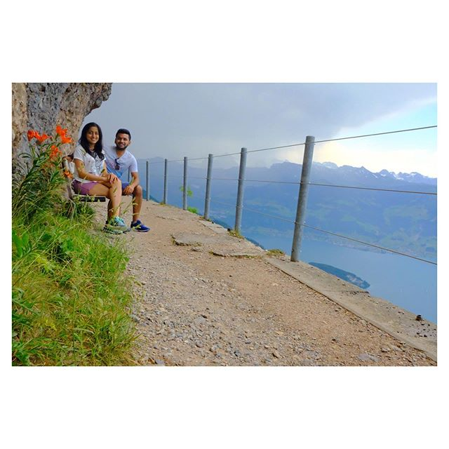 Hiking Mt Rigi, Switzerland. . . . . . . . . #hiking #mountains #nature #love #travel #europe #swissalps #switzerland #withher