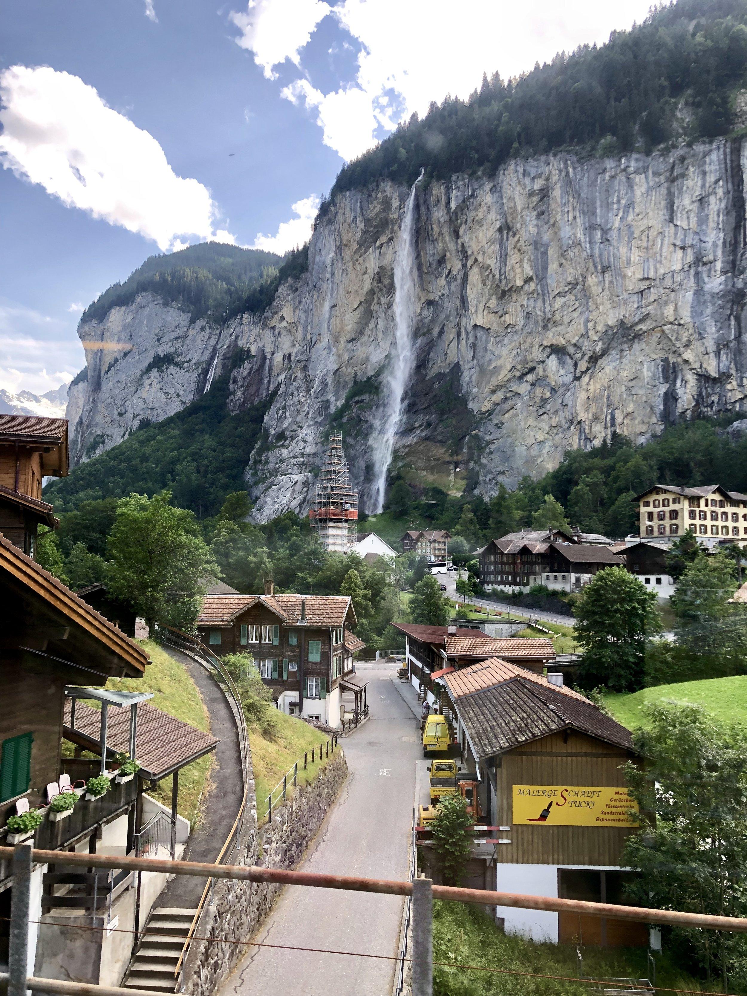 Town of Lauterbrunnen