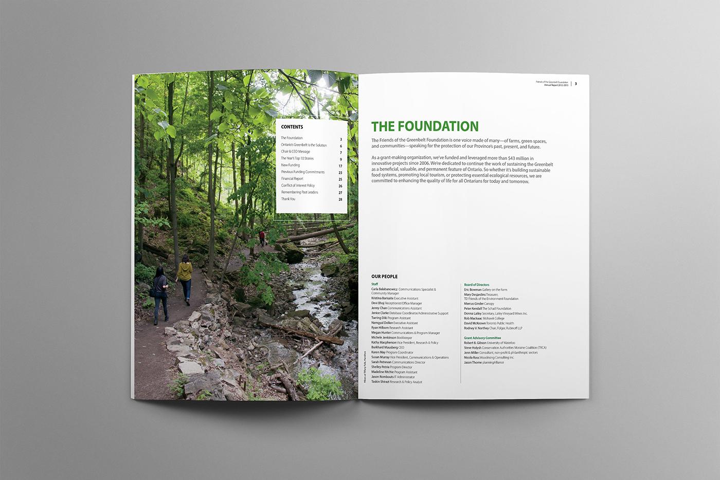 Greenbelt foundation index. Hiking within the greenbelt.