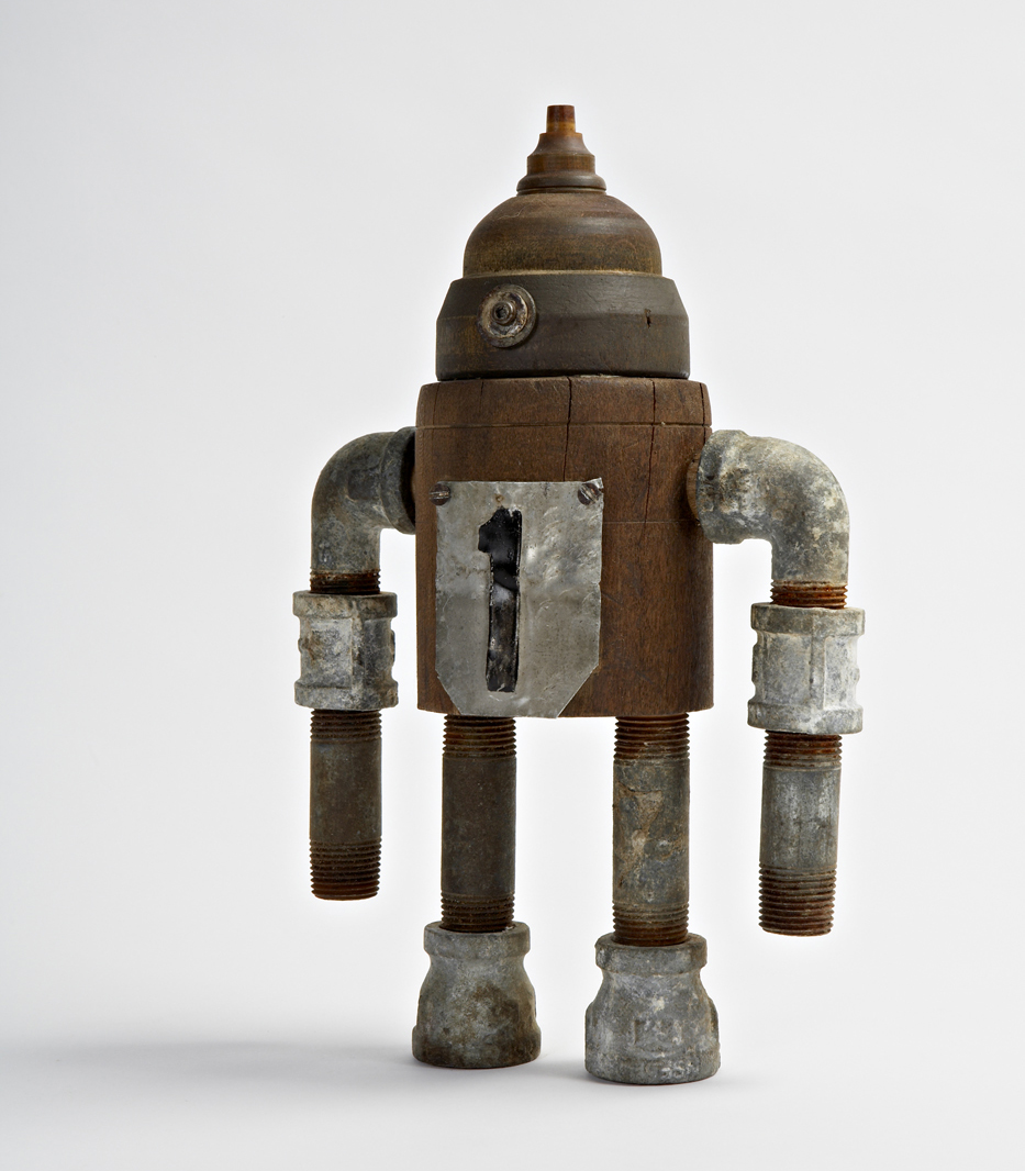 Robot made from various objects
