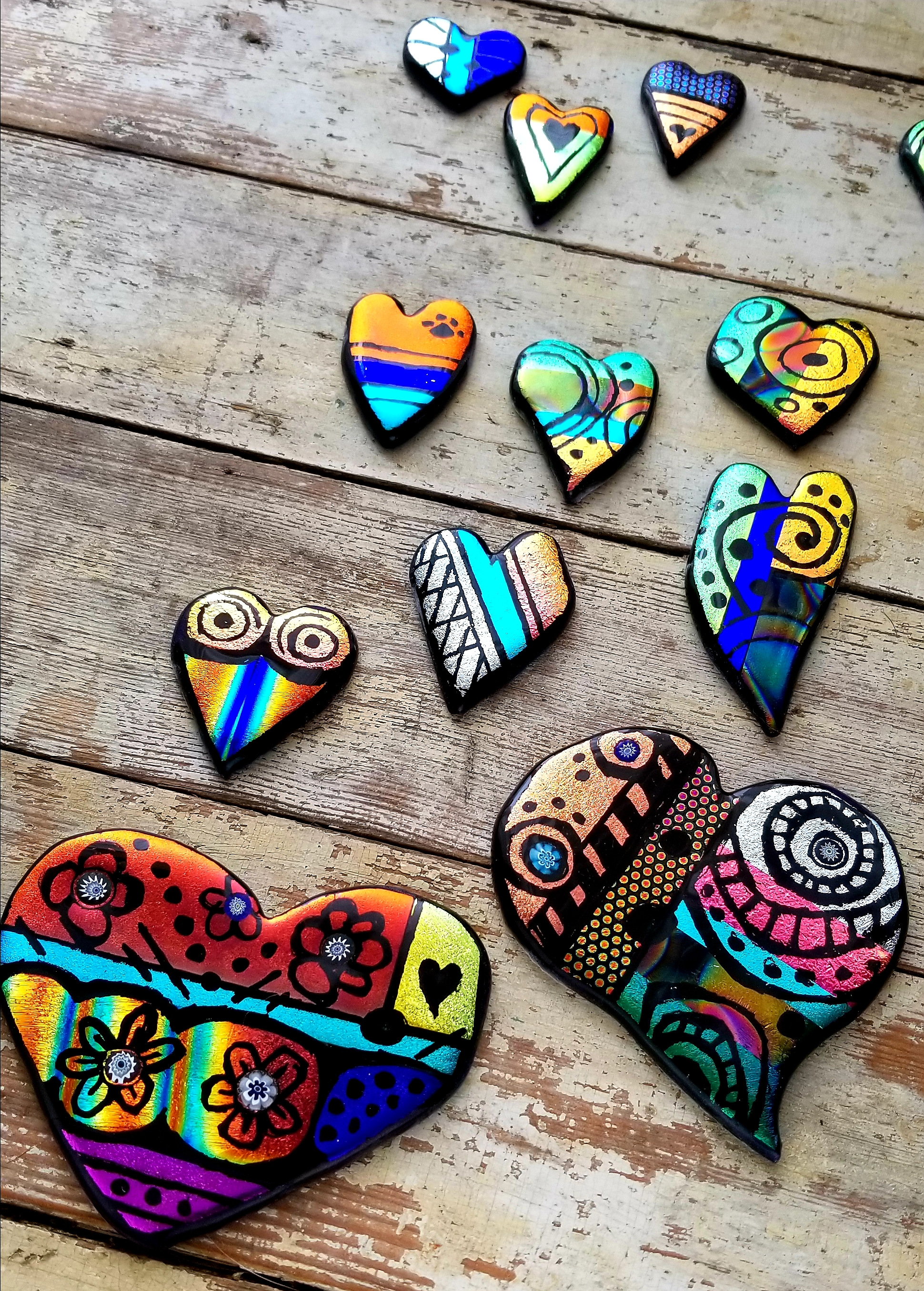 Doodle Hearts - Just because they make you feel good