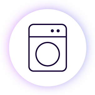 - Laundry facilities