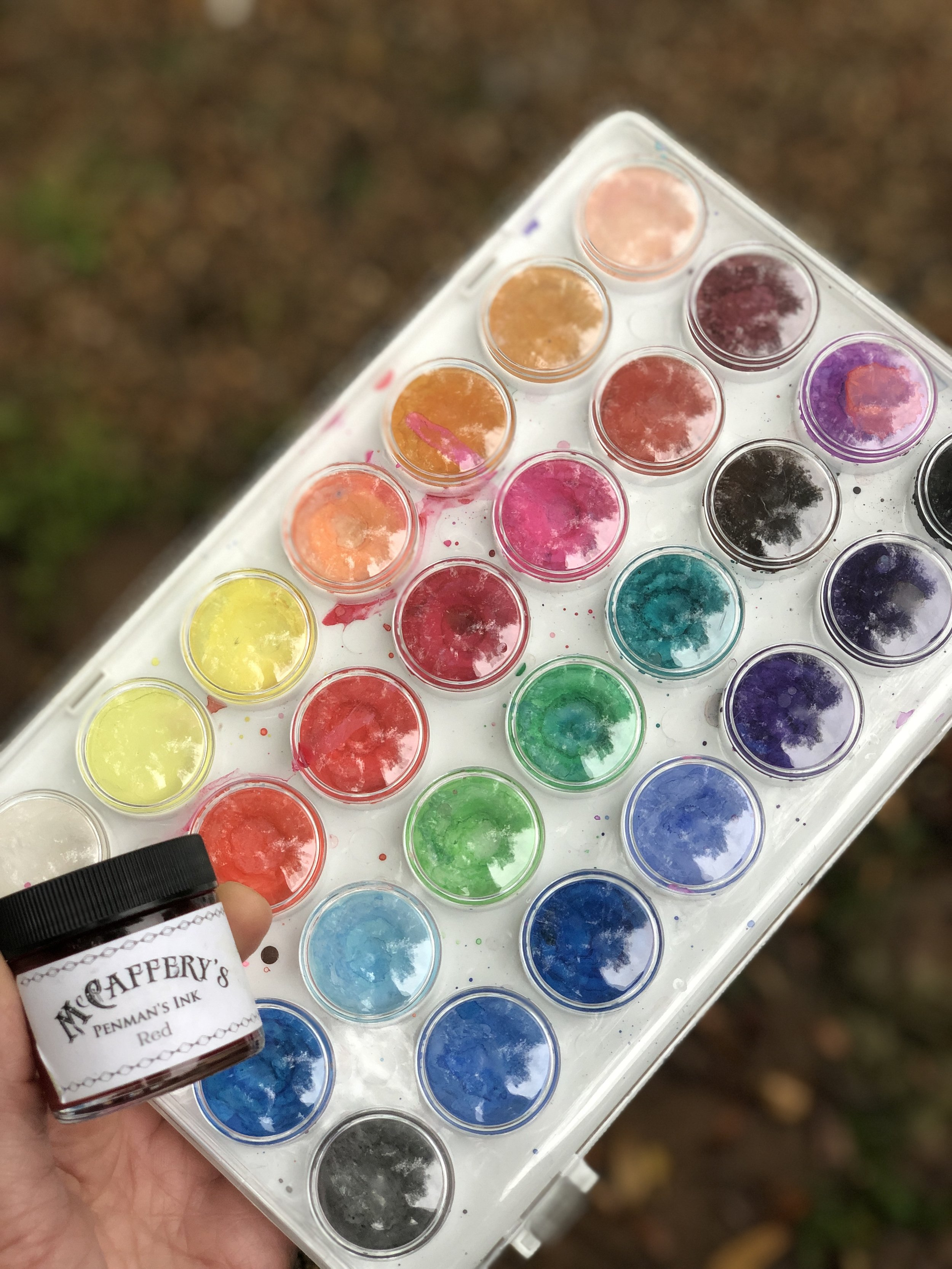 You can't find McCaffery's at Amazon but all the colors are at Paper and Ink Arts!