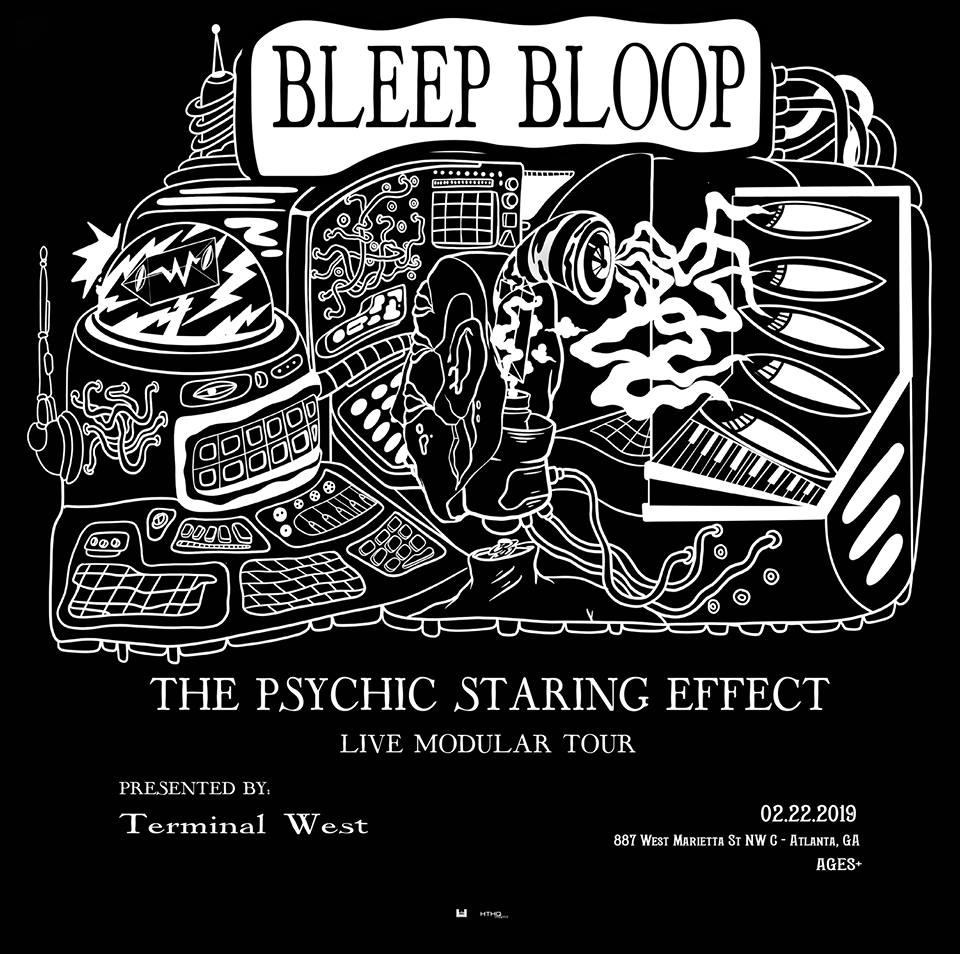 Bleep Bloop Live Modular Tour Terminal West Atlanta EDM