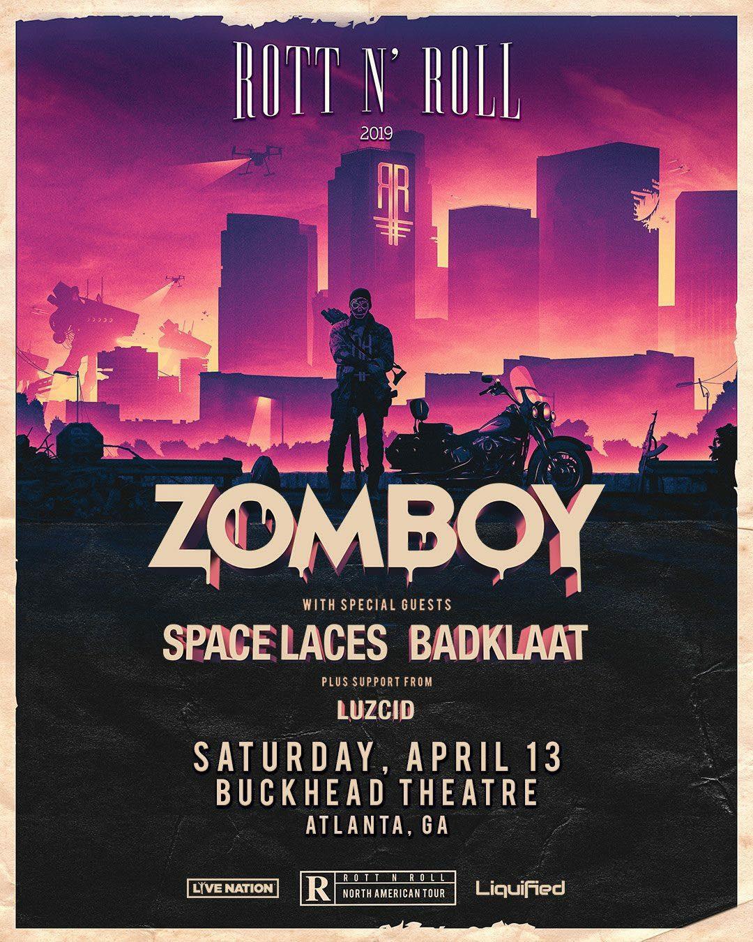 Zomboy Space Laces Badklaat Buckhead Theatre Atlanta EDM.jpg