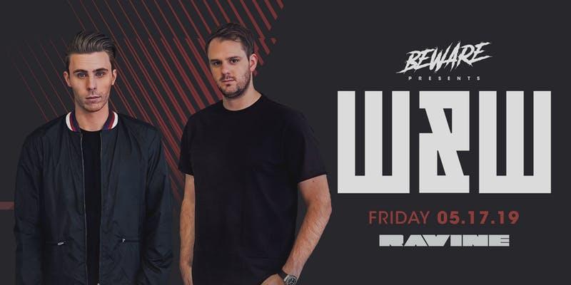 W&W Ravine Beware Presents Atlanta EDM