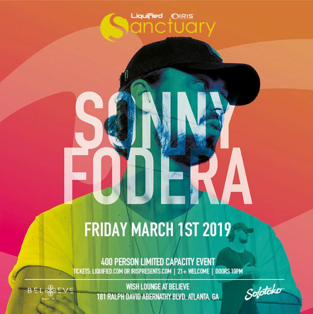 Sonny Fodera Sanctuary Liquified Iris Presents
