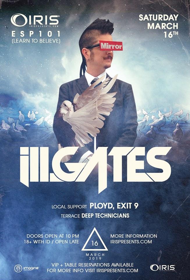 ill.Gates Atlanta EDM Iris Presents Believe Music Hall