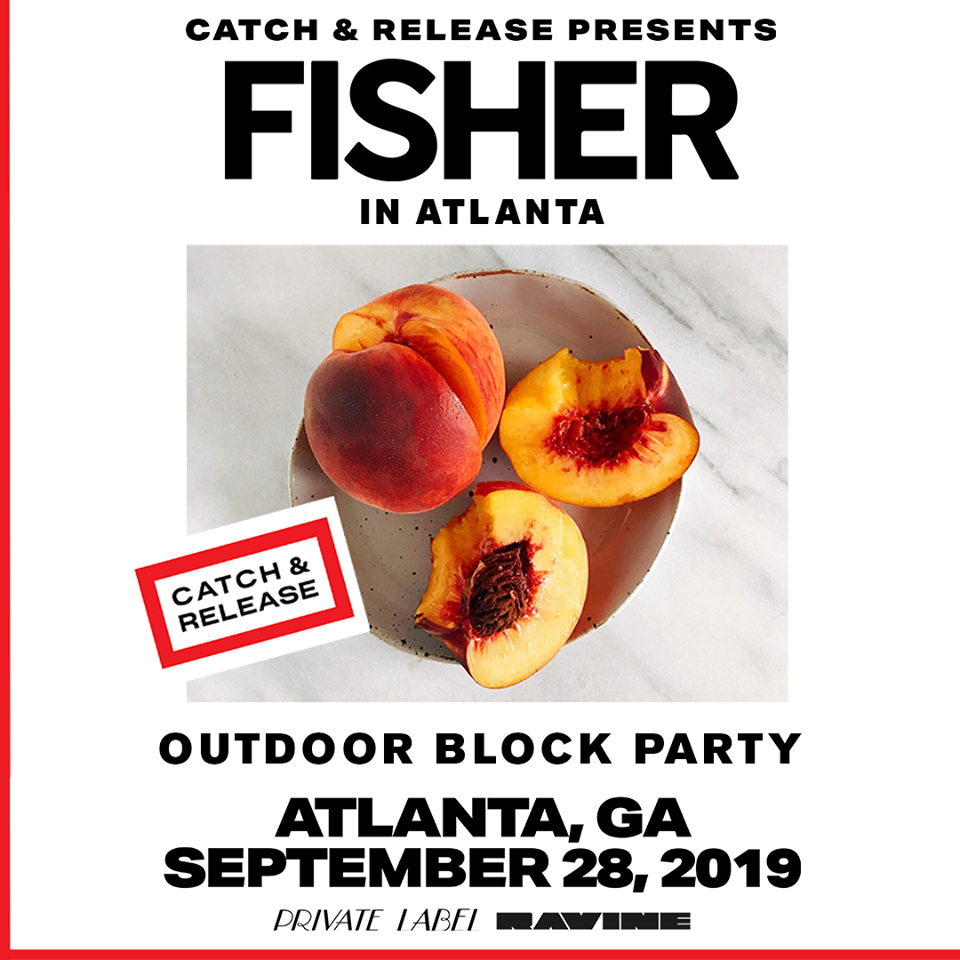 September 28 2019 Fisher Outdoor Block Party Beware Presents Ravine Atlanta EDM Events Shows Concerts