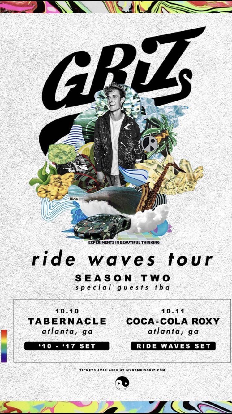 10.10 Griz Tabernacle Coca Cola Roxy Atlanta EDM Events Shows Concerts Festivals.jpg