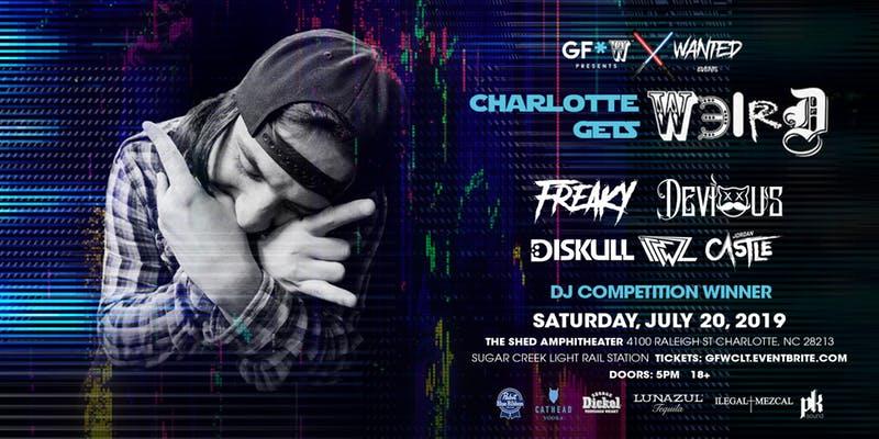 7 July 20 2019 Charlotte Gets Weird Music and Arts Festival Charlotte NC Atlanta EDM Events Shows Festivals Concerts.jpg