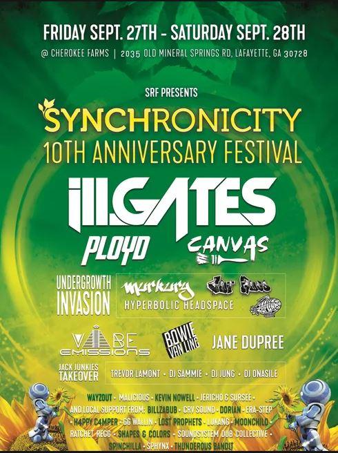 9 September 27 28 2019 Synchronicity Lafayette Atlanta Georgia EDM Festivals Concerts Shows Events.JPG