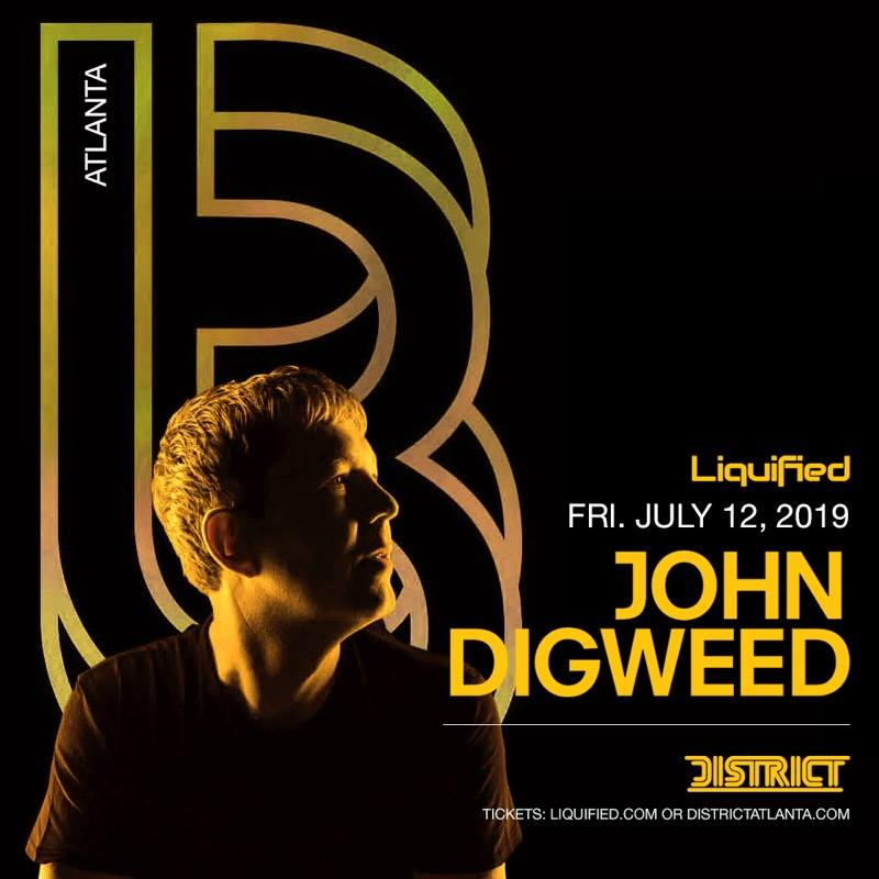 DISTRICT ATLANTA - John Digweed