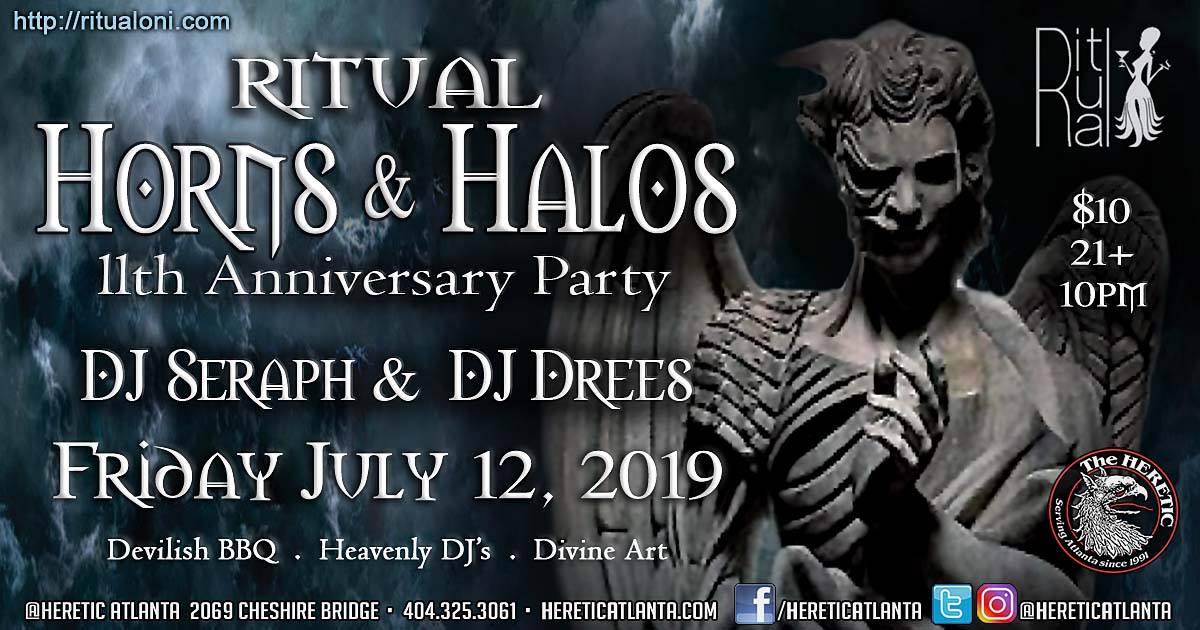 HERETIC ATLANTA - DJ SERAPH & DJ DREES