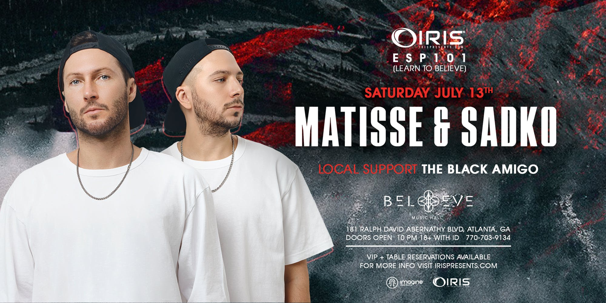 BELIEVE MUSIC HALL - MATISSE & SADKO