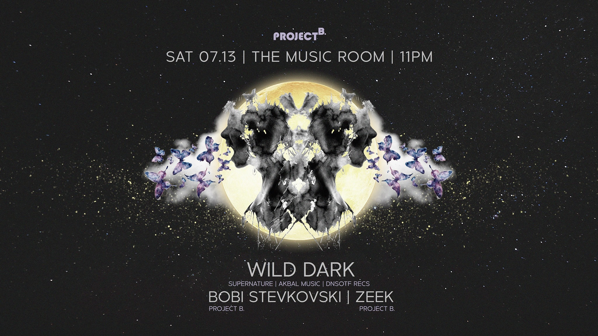 THE MUSIC ROOM - WILD DARK
