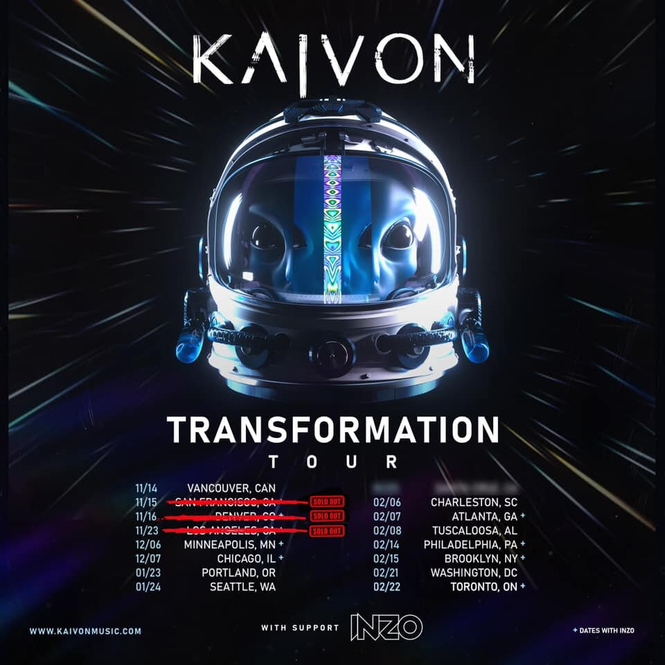 Charleston Events Shows May 2020.Kaivon At Terminal West Feb 7 2020 Atlanta Edm