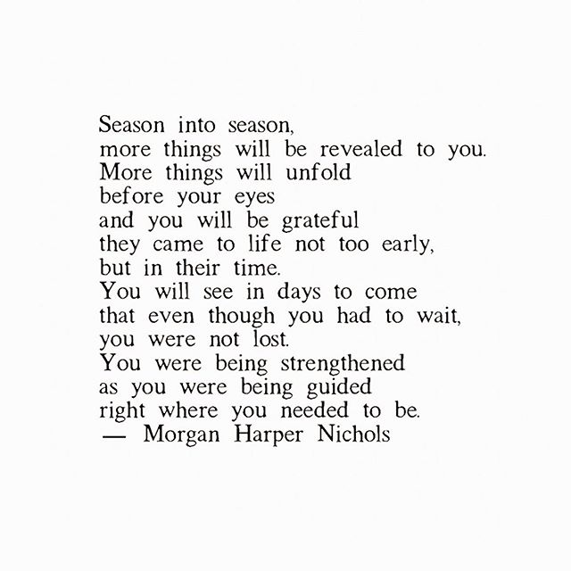 This. I just really love this. Reminder, you are right where you are supposed to be.✨ . . Thanks for writing @morganharpernichols . . . . . . . . . . . . . . . . .  #soul #sunday #quotes #feels #selfcare #omahablogger #emilyschneiderblog