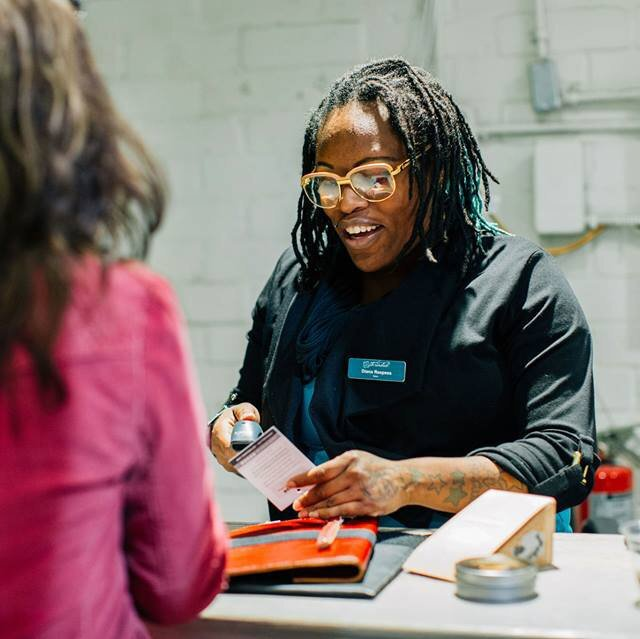Funding job training programs and employment through social enterprises in opportunity zones -