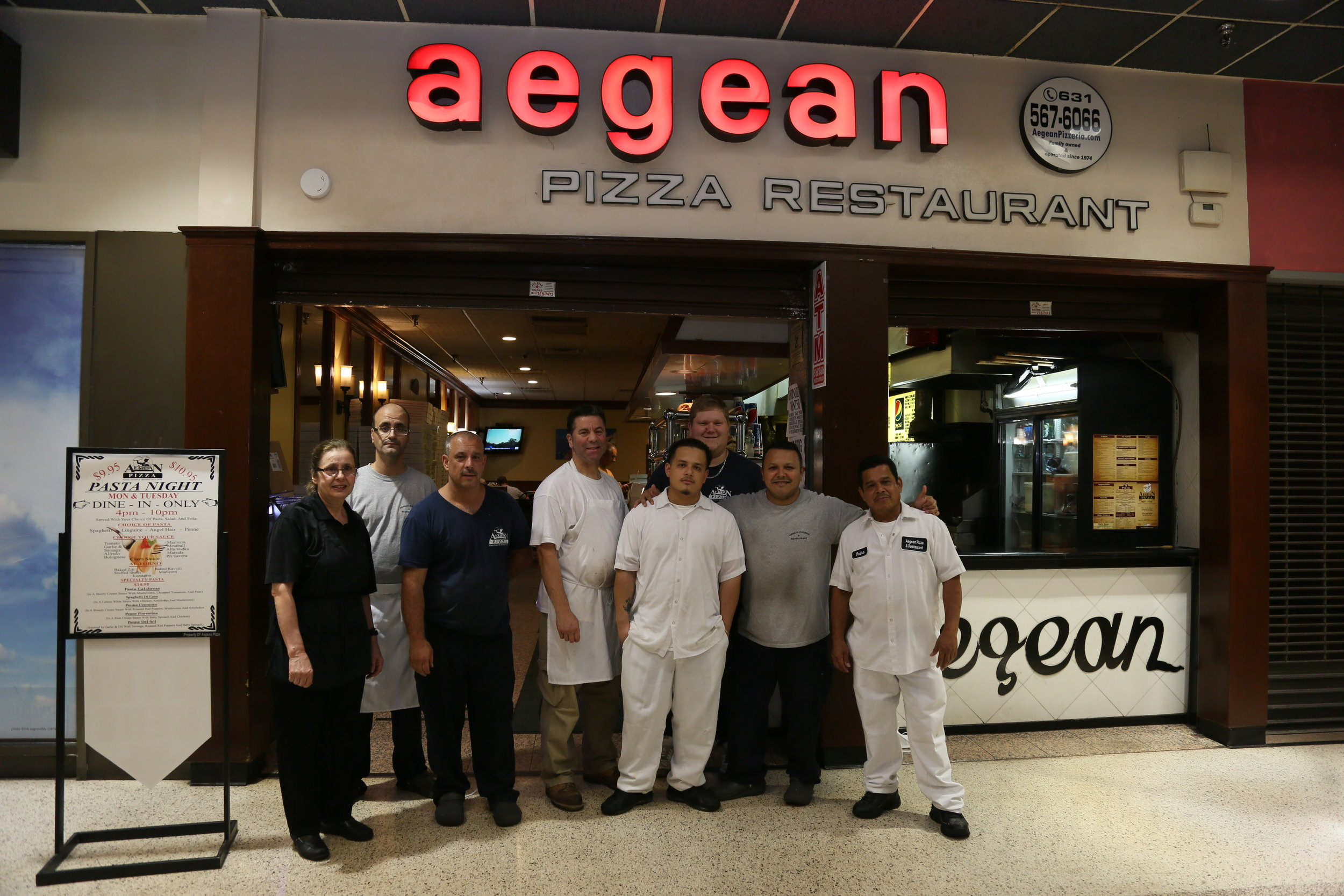 Aegean Pizzeria and Restaurant