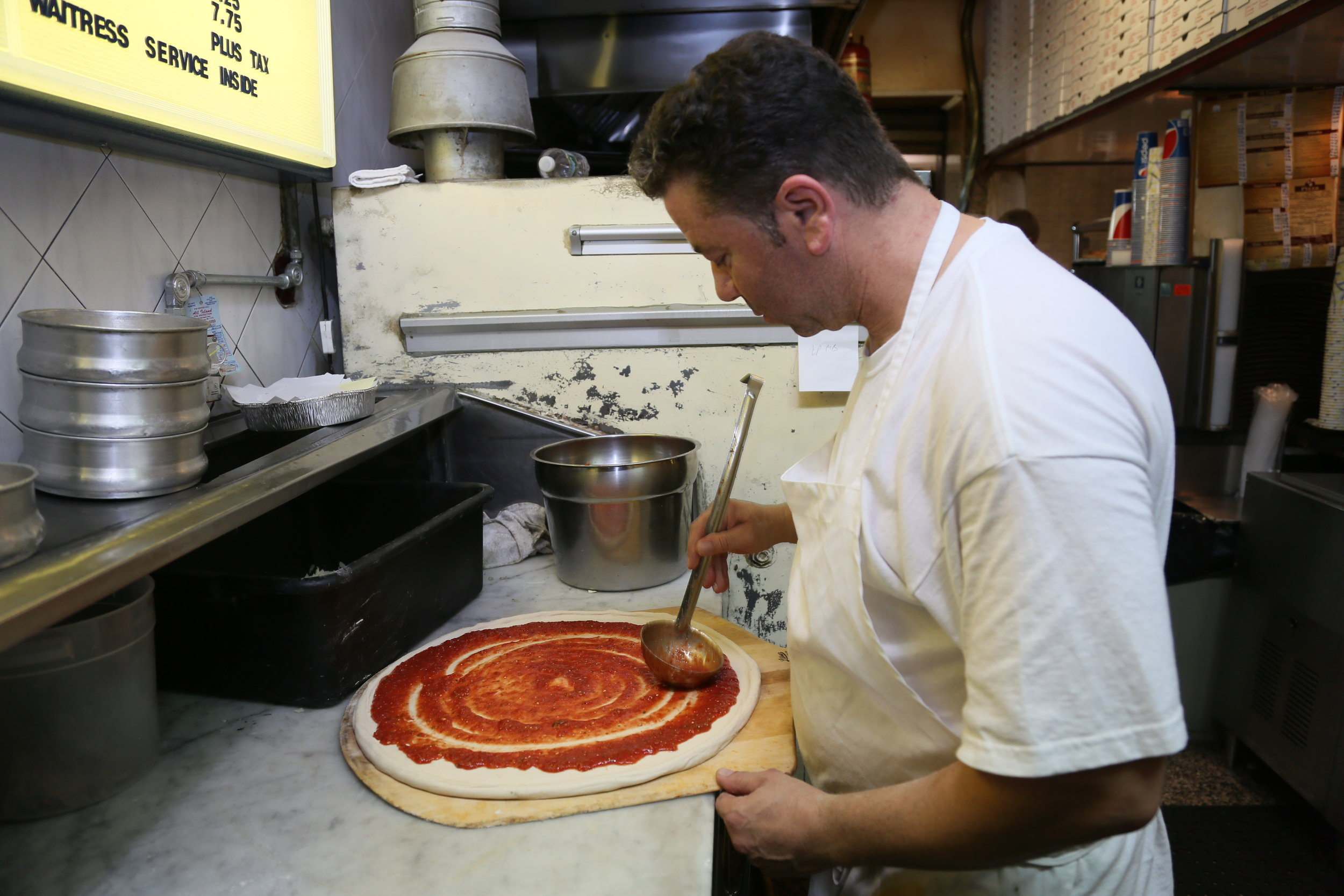 Voted Long Island's Top 10 Pizza