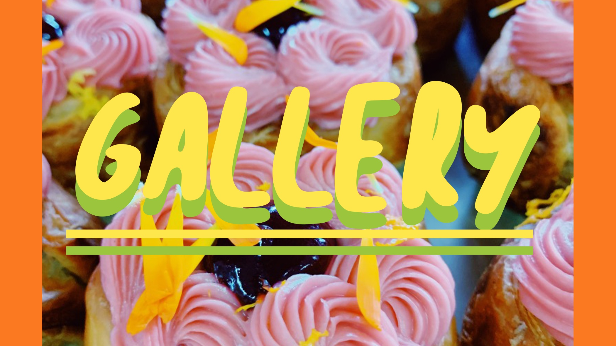 Look @ pics - Includes baked goods, quotes from the blog, graphic design, and more.