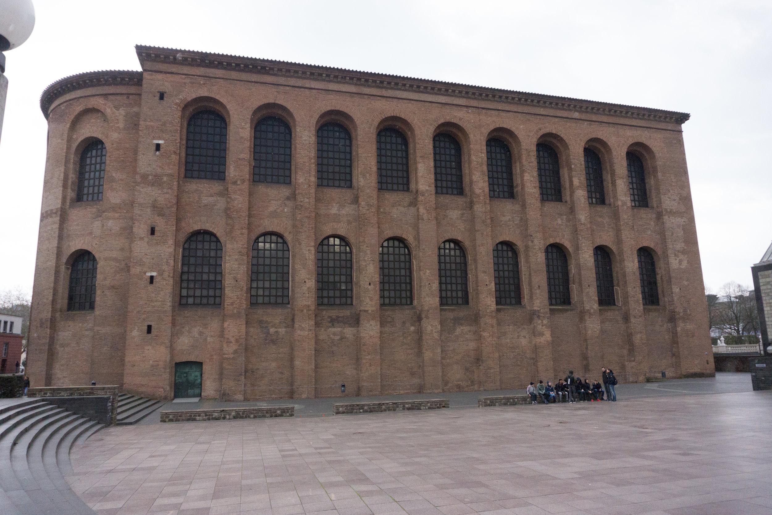 Constantinian Basilica 4th century Imperial Throne Room