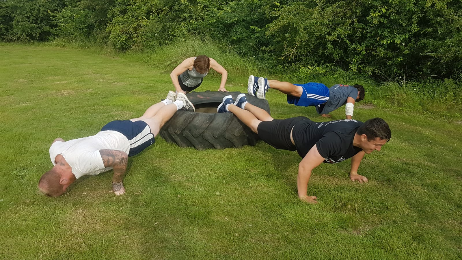 July Bootcamp at Energise Pentney