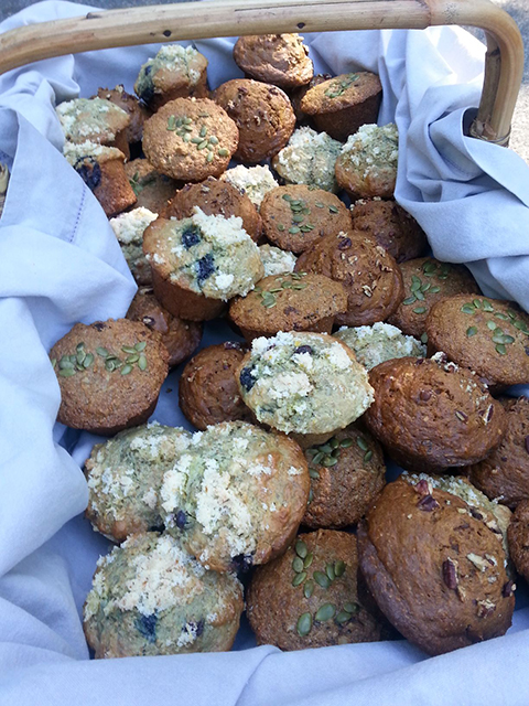 More muffins!