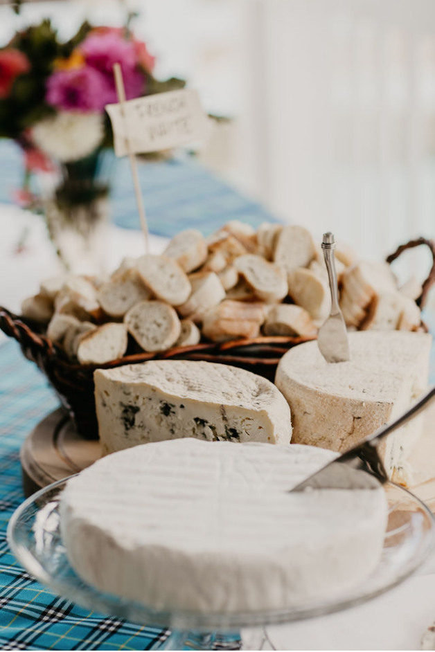 Wedding cheese table