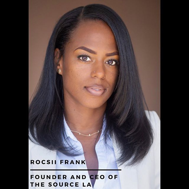 Amazing time shooting @rocsiifrank Founder and CEO of @thesourcela Here's one of the many amazing headshots we produced from our session. She gave a great interview on being a black professional in LA too so look out for the video that'll be posted soon. If you're looking for a killer headshot for your business, LinkedIn or etc., contact me via dm or at ontay@ontayphotos.com