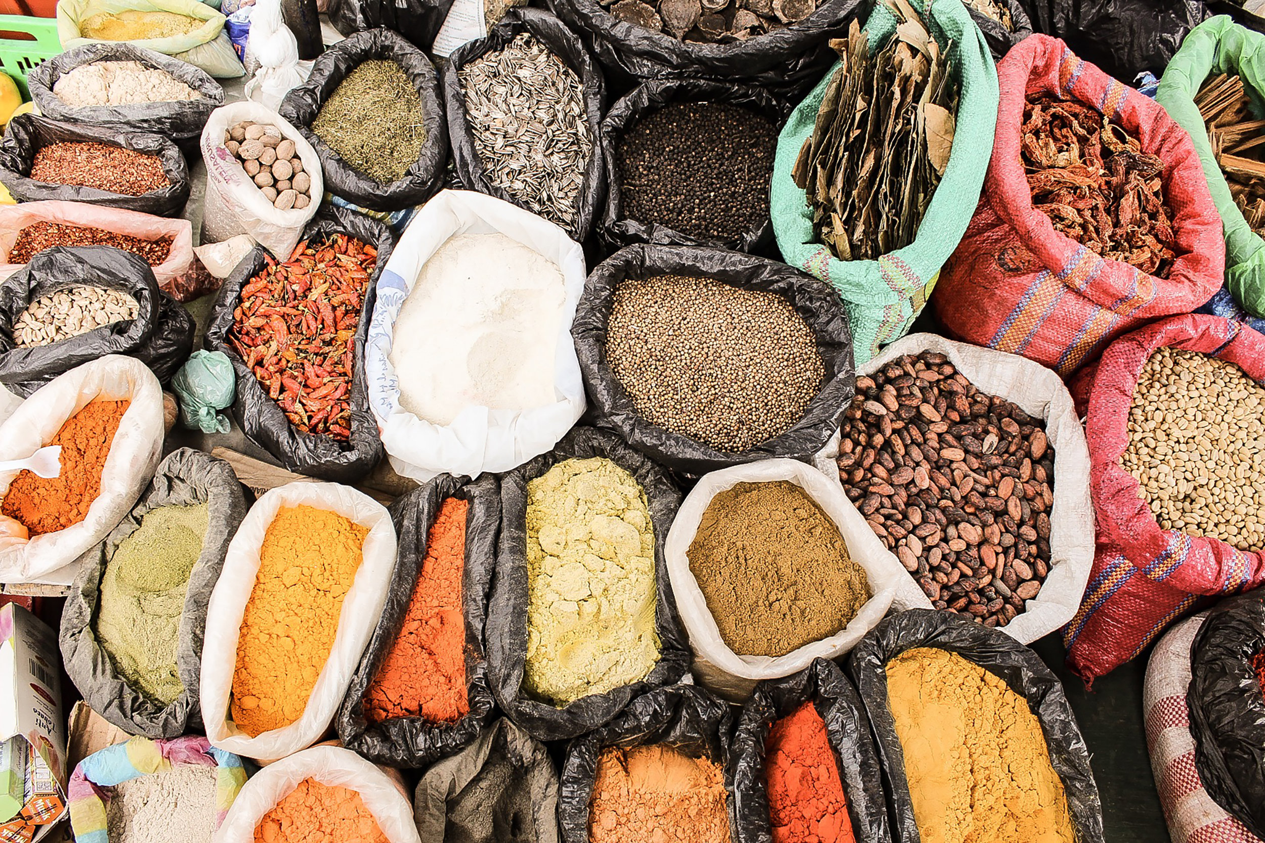 Real ingredients - nutrient-dense plant foods