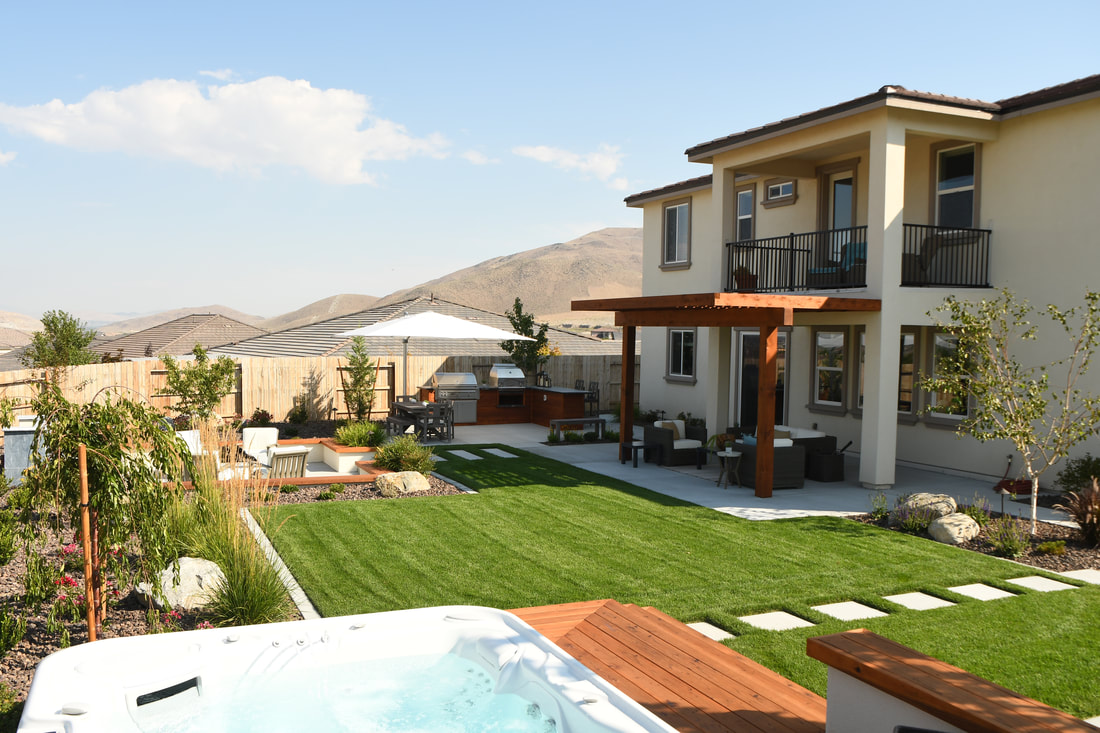 Reno, NV pool and spa by landscapers near me