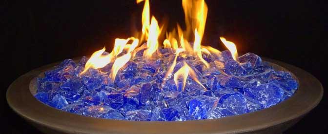 Reno, Nevada outdoor fireplace