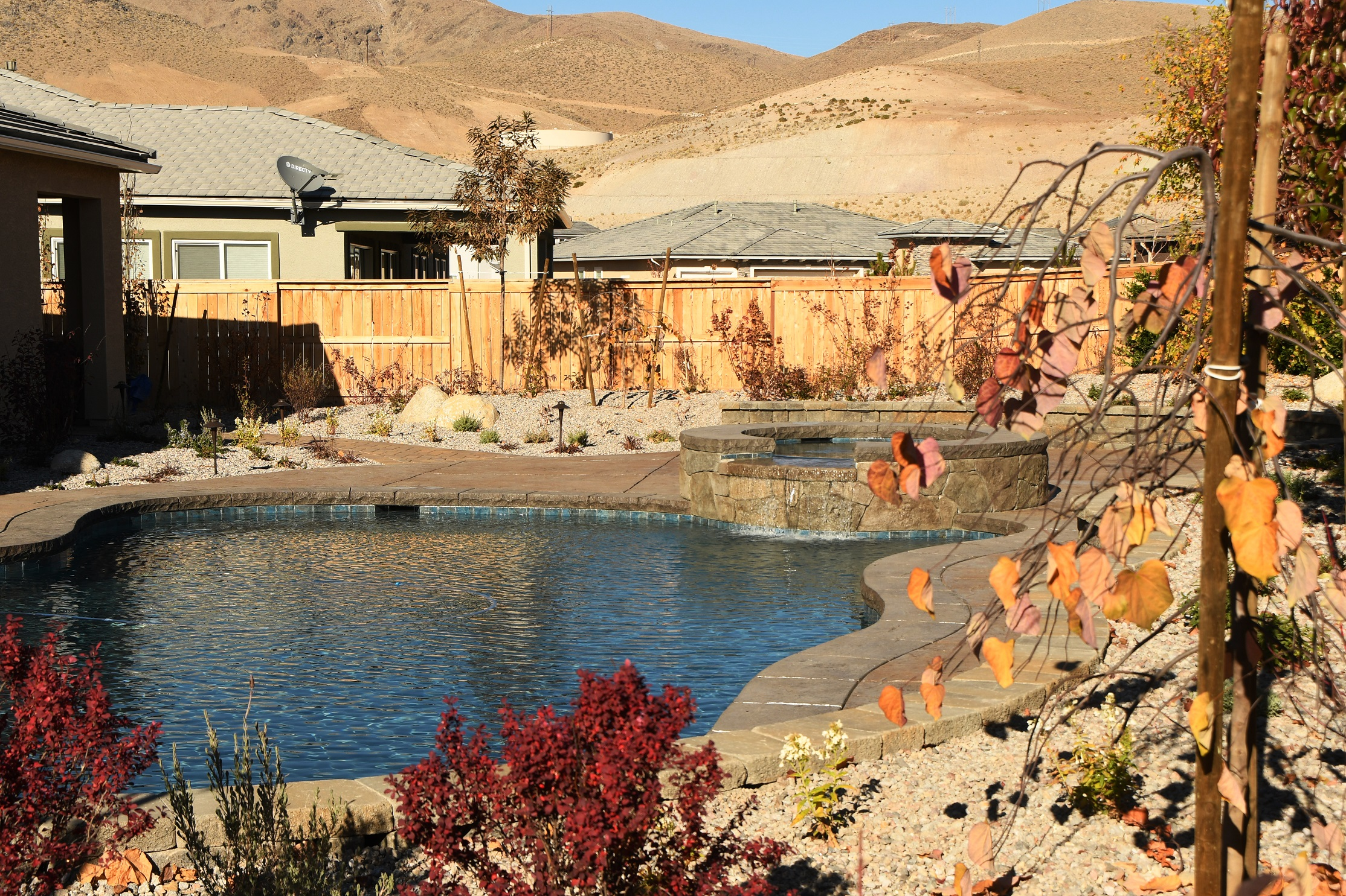 Pool and spa landscaping services in Reno, NV