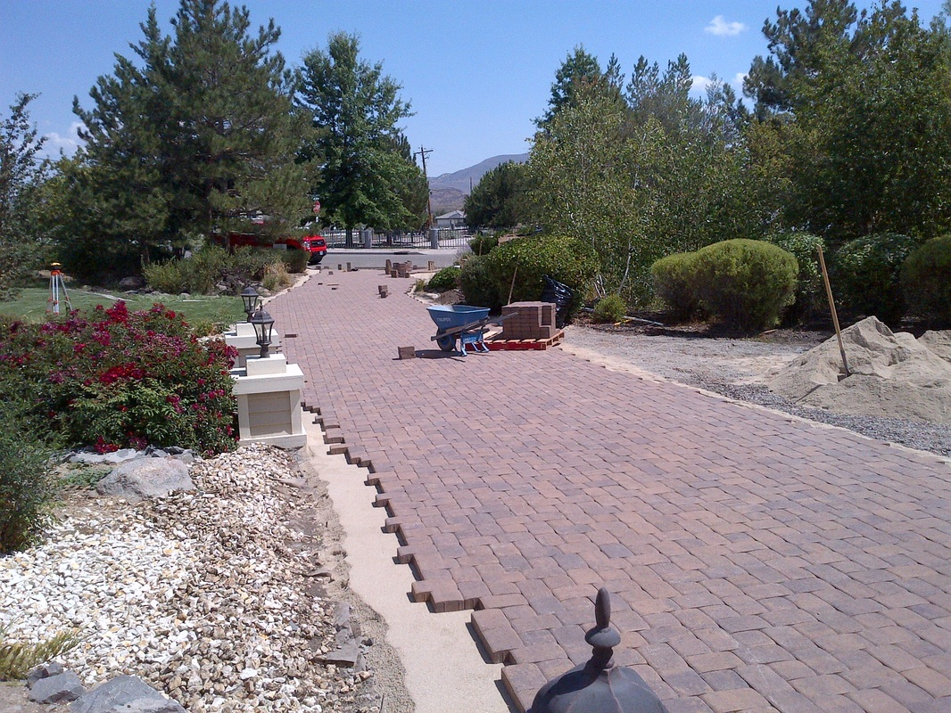 Reno, NV landscape contractors for driveway installation