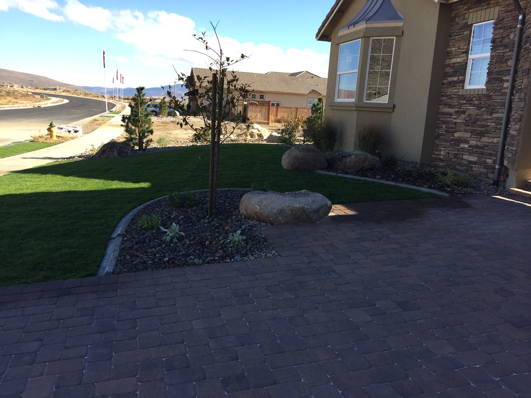 Landscape contractors for front yard landscaping in Reno, NV