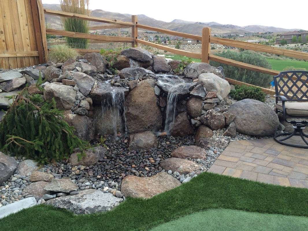 Water features by landscapers near me in Reno, NV